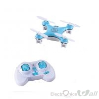Super Mini CX-10 2.4G 4CH 4 Channel RC Nano Quadcopter (Blue)