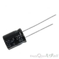 Capacitor 220uF 16v ( 10pcs packet)