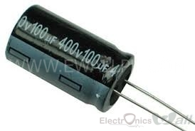 Capacitor 100uF 16v ( 10pcs packet)