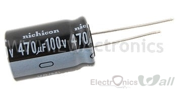 Capacitor 470uF 16v ( 10pcs packet)
