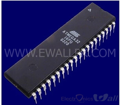 ATMEGA32-16PU - ATmega32 40-Pin 16MHz 32kb 8-bit Microcontroller