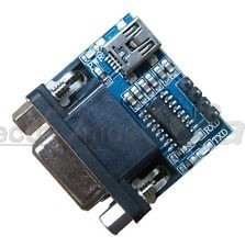 MAX3232 RS232 Serial port to TTL Converter Module with DB9 Connector