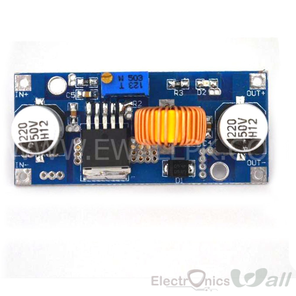 5A dc-dc (dc to dc) Adjustable step-down (buck) Module Input 4~38V