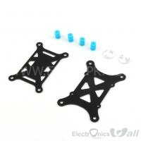 Anti vibration FC Mount Shock Absorber Plate For Multicopter