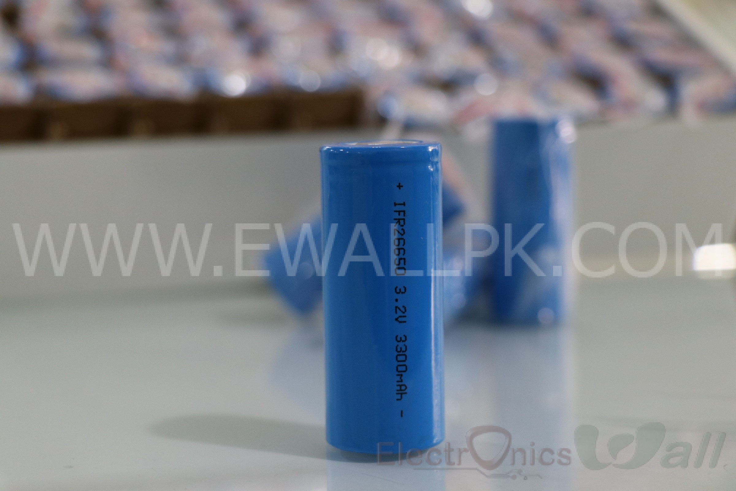 3.2V 3300mAh LiFePO4 Rechargeable battery 26650 Flat Top cell (Original Highest Quality)