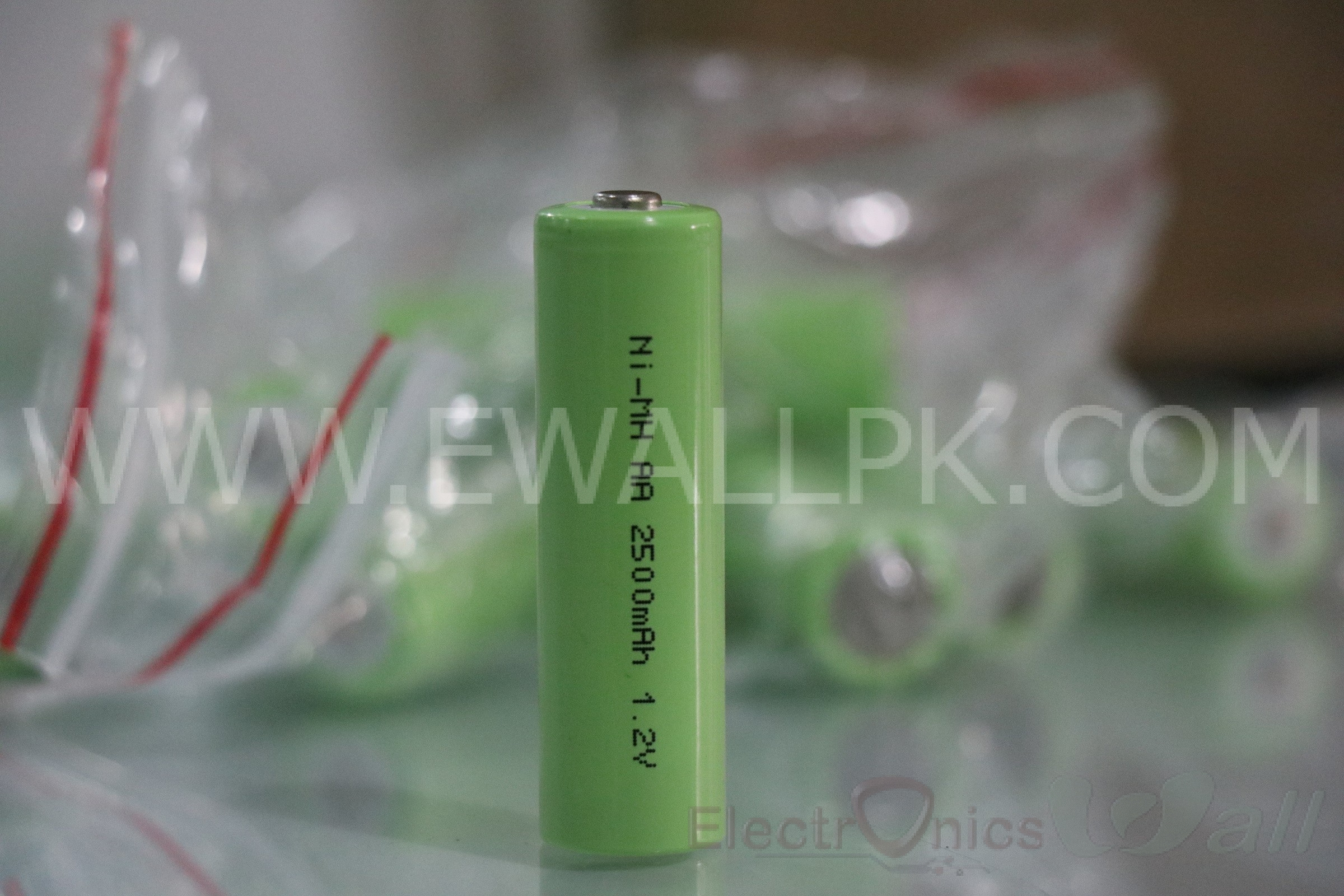 1.2V 2500mAh Ni-Mh rechargeable cell AA (Original Highest Quality)