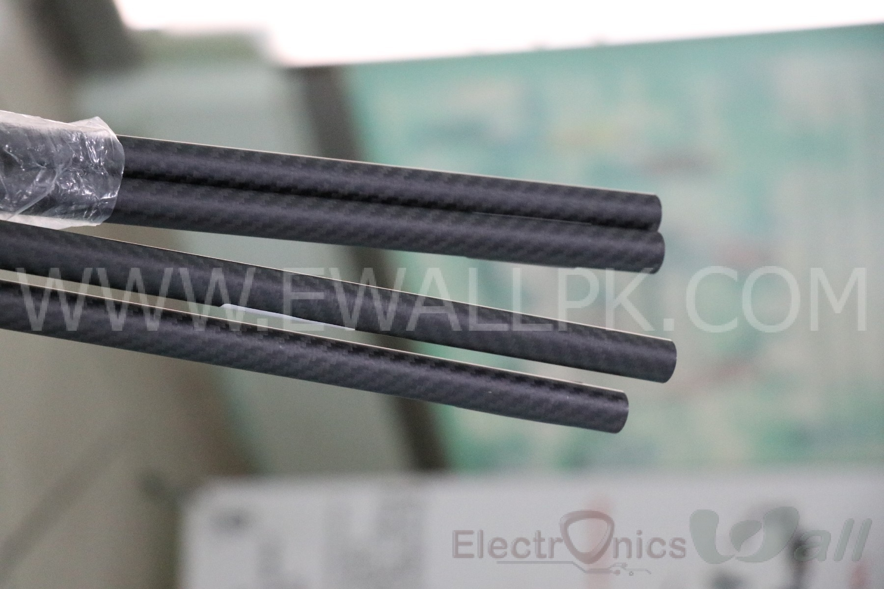 16x14x500mm 3K Carbon Fiber Tube (Twill Light)