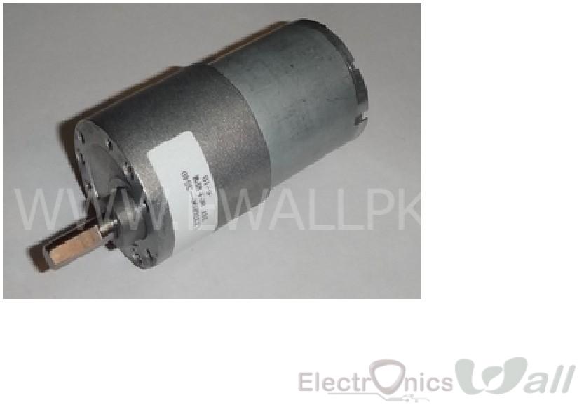 12V 80RPM Torque 7kg.cm DC gear motor high