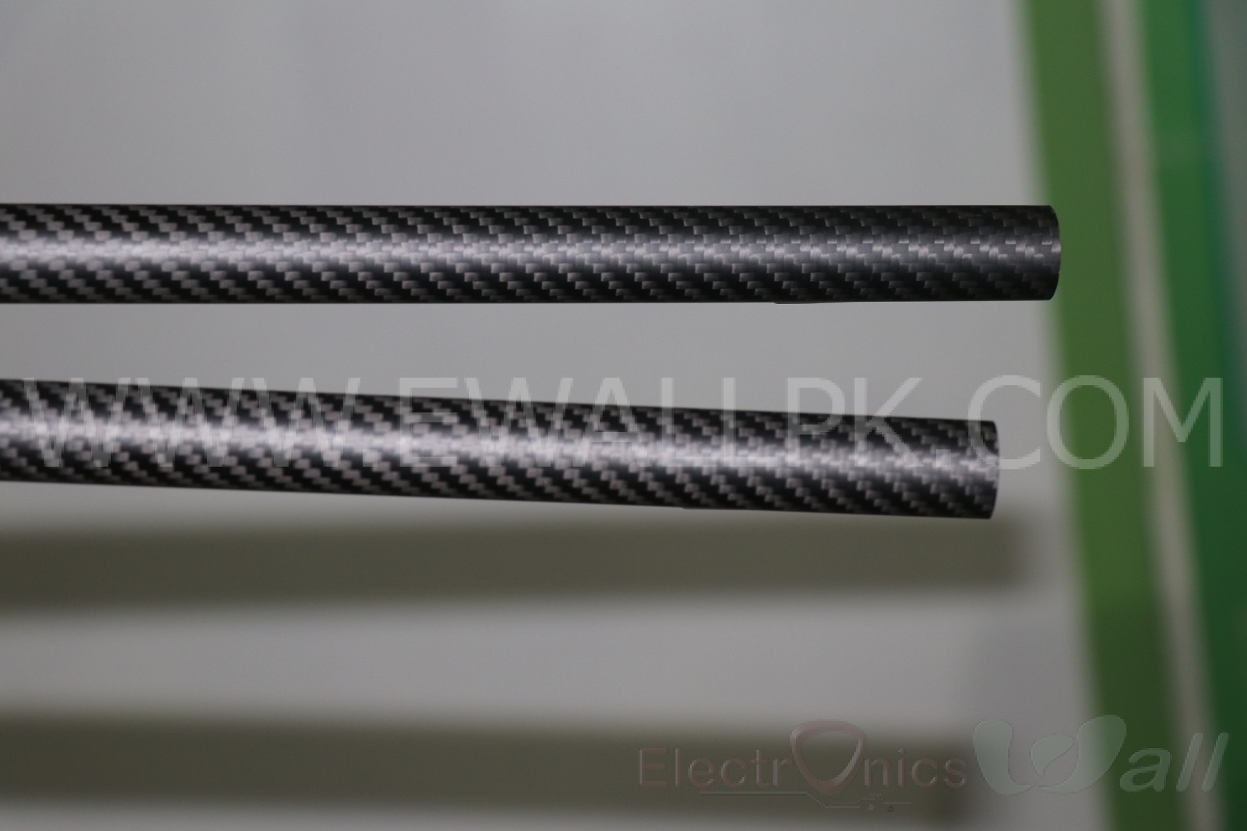 20x18x500mm 3K Carbon Fiber Tube (Twill Light)