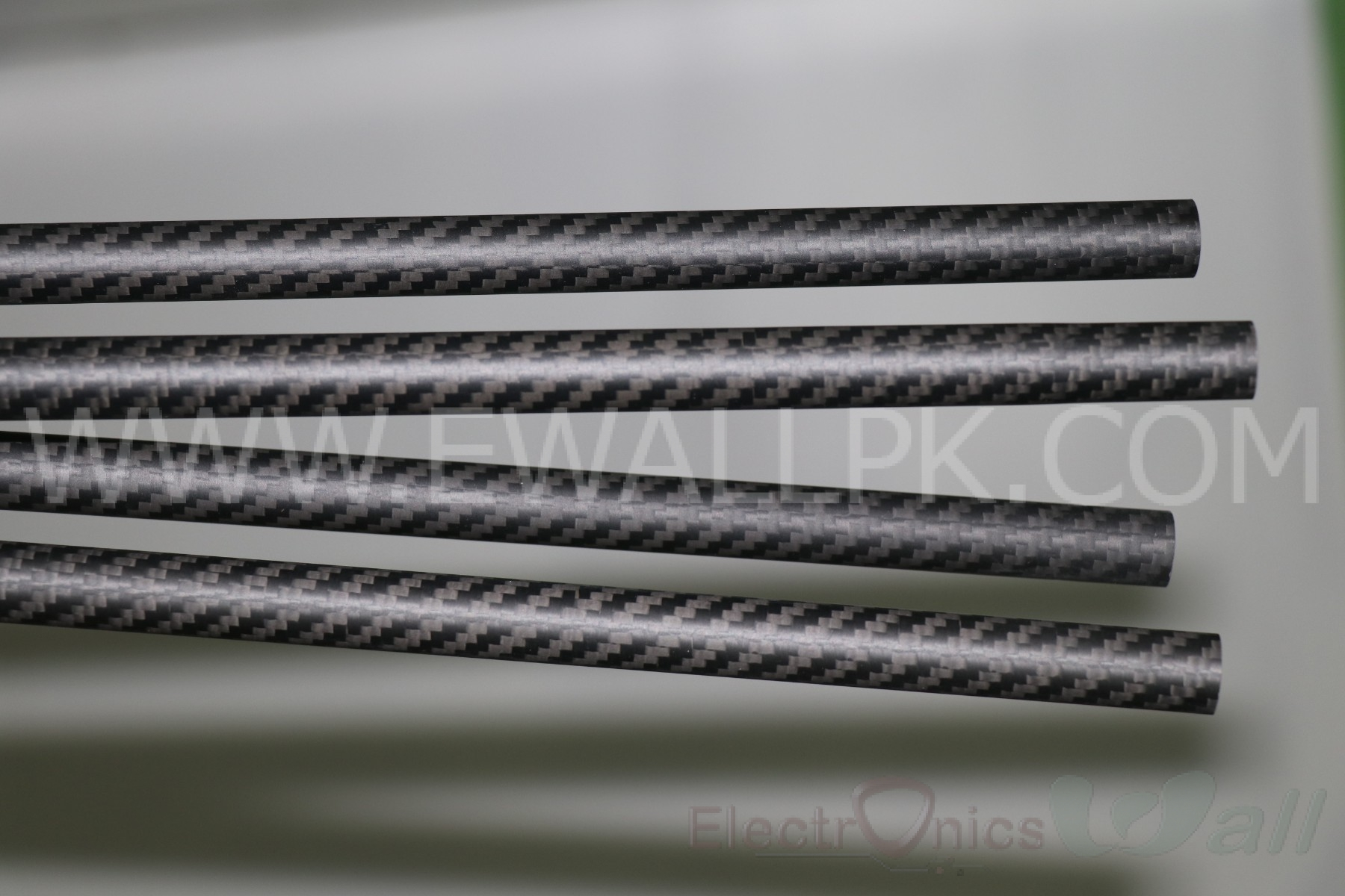 14x12x500mm 3K Carbon Fiber Tube (Twill Matt)