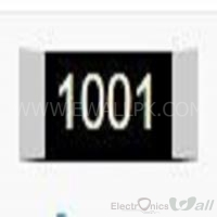 1K Package Size 1206 SMD Resistor(5 Pcs Packet)