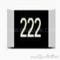 2.2K Package Size 1206 SMD Resistor(5 Pcs Packet)