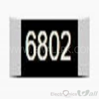 68K Package Size 1206 SMD Resistor(5 Pcs Packet)