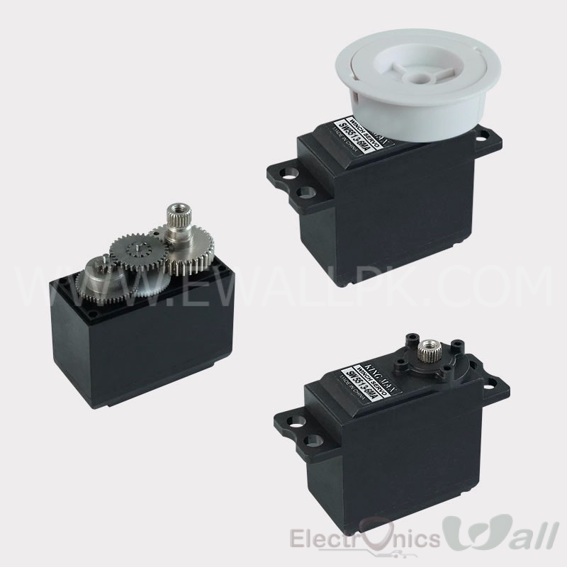 360 Degree Control SW5513-6MA,5.5~6T ,Metal Gears Sail Winch Servo