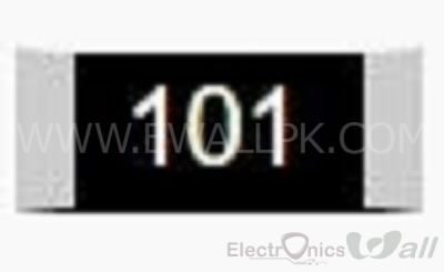 100 OHM Package size 0402 SMD Resistor( 20pcs packet)