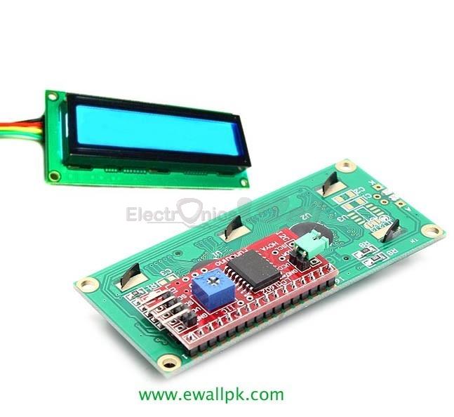 SERIAL IIC/I2C/TWI 1602 16X2 CHARACTER LCD MODULE DISPLAY