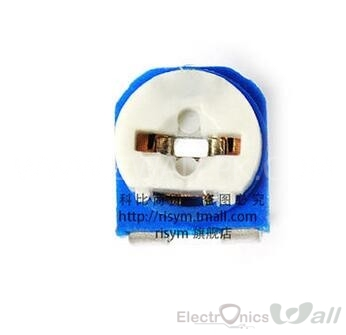 100K Ohm Variable Resistor Potentiometer