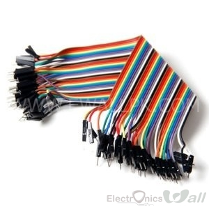 40pcs 20cm male to male Connecting wires 40 pin