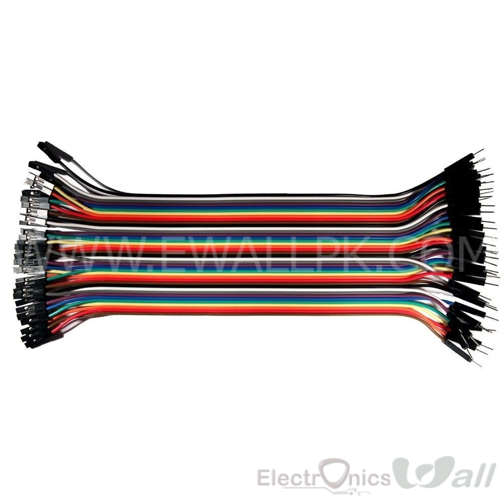 20cm Female to Male  connecting wires 40 pins