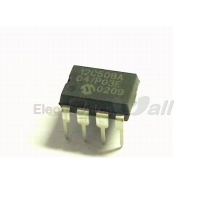 PIC 12C508A MICROCONTROLLER