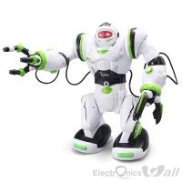 RC Walking Robot Carnival Children's Robot Toy, Smart Dialogue ,Voice Remote ,Talking ,Singing, Dancing Boy
