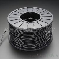 1.75mm ABS Black 3D printer filament 1Kg (Economy )