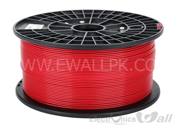 1.75mm ABS RED 3D printer filament 1Kg (Economy )
