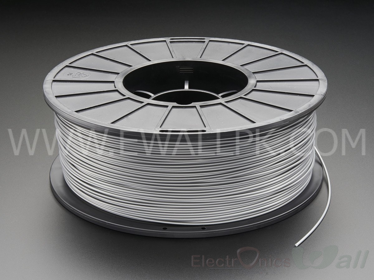 1.75mm ABS -Gray 3D printer filament 1Kg (Economy )