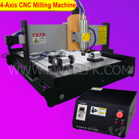 6040 1500W 4 axis CNC Aluminium/Metal Milling Machine (High Quality)