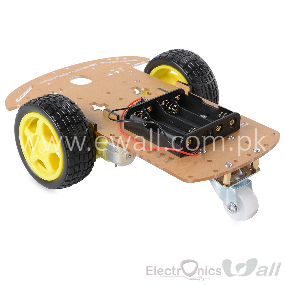 2WD 3 Wheel Robotic Smart Car Chassis (Economy )
