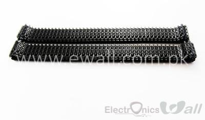 75cm Tank Track EW-TC09  Crawler Smart Car Chassis Conveyor belt Chain Plastic (Pair)