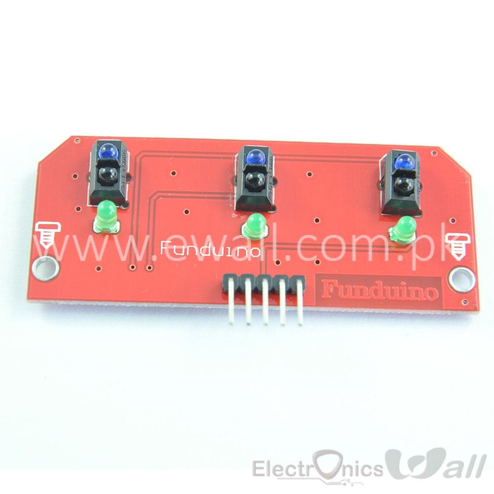 3 way Line Following Tracking Sensor Module Hunt Sensors module