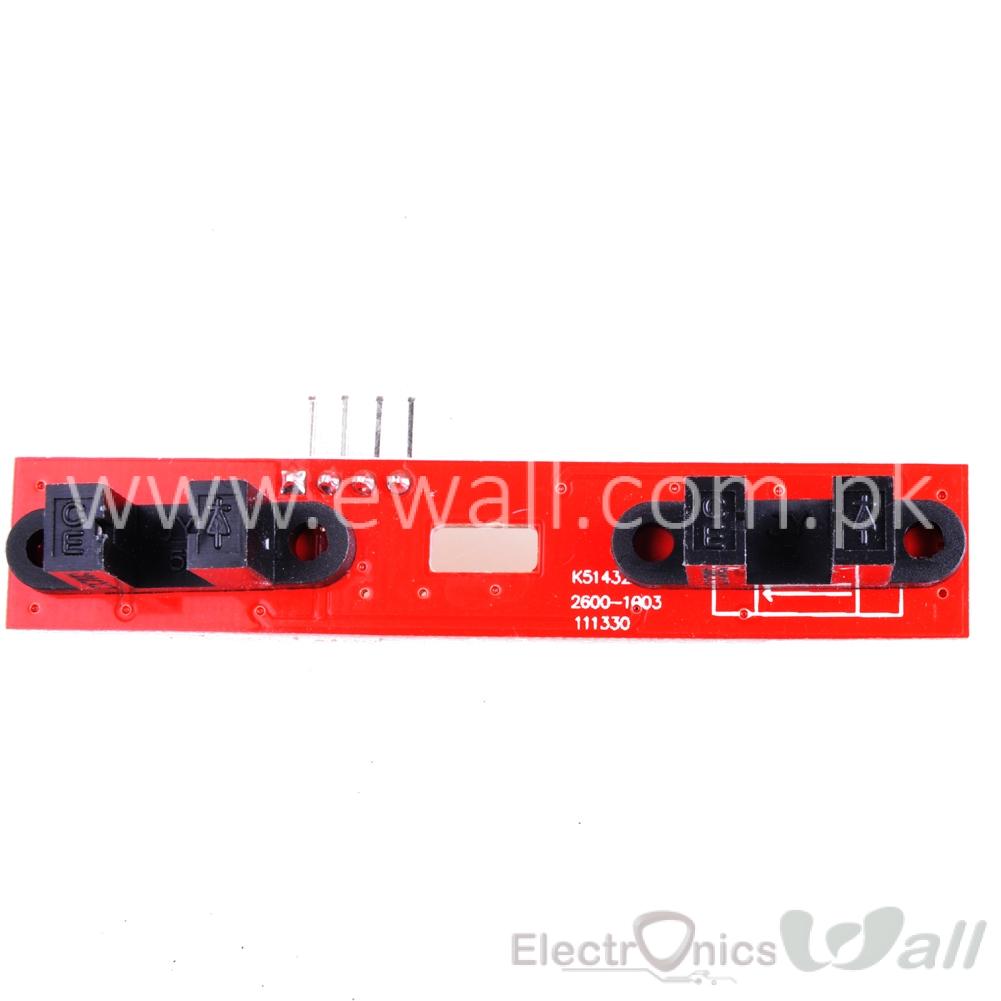 2 Channel Optical Encoder Speed Sensor Module For 2WD Smart Car (Tachometer)