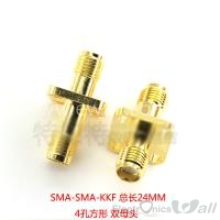SMA-KK-Block Female(hole inside) to Female(hole inside)