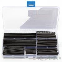 Black Heat Shrink Tubes Box 140 PCS