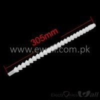 Flexible Coolant Pipe White 1/2