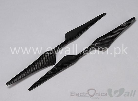 T Motor Style 17X5.5 Carbon Fiber CF Propellers Pair