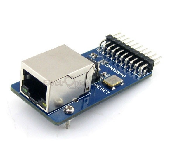 DP83848 ETHERNET BOARD