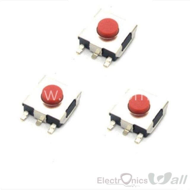 18-  6X6X3.1 SMD PushButton (10 pcs packet)