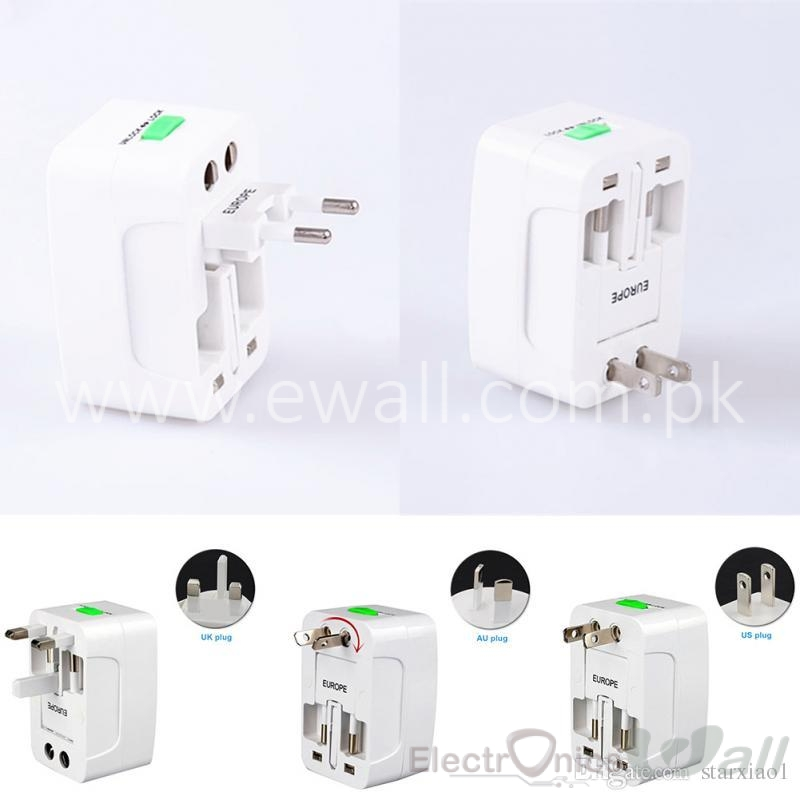 (10A /240V) Multi function All in One Universal International Plug Adapter
