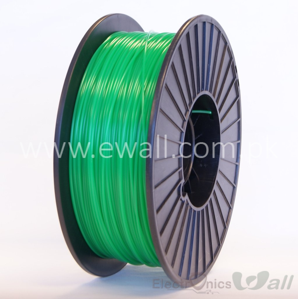 1.75mm PLA light green 3D printer filament 1Kg (Economy )