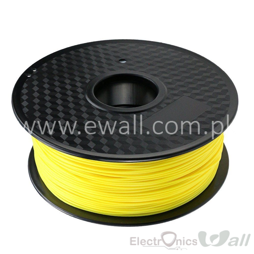 1.75mm PLA Yellow 3D printer filament 1Kg (Economy )