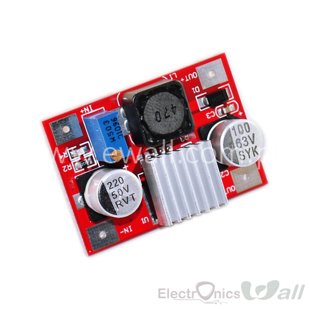 63V Boost /Step up Configured Lm2577 Module with Heat sink