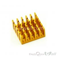 Heatsink , Chip cooling 22x22x10MM