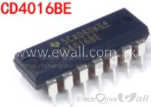 CD4016 DIP14 Quad Bilateral Switch