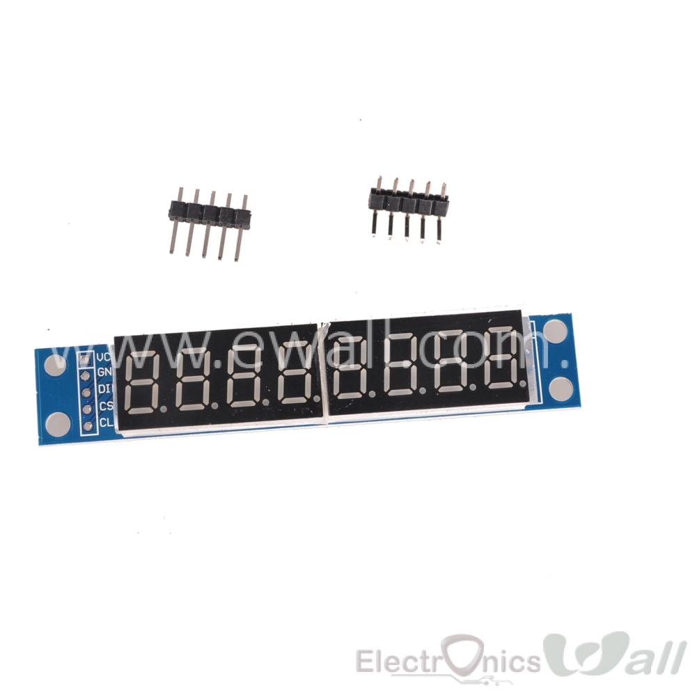MAX7219 EWG 8-Digit Digital Tube Display Control Module Red