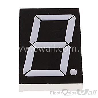 2.3 inch Seven Segment 3-core series 5.4V red light digital tube