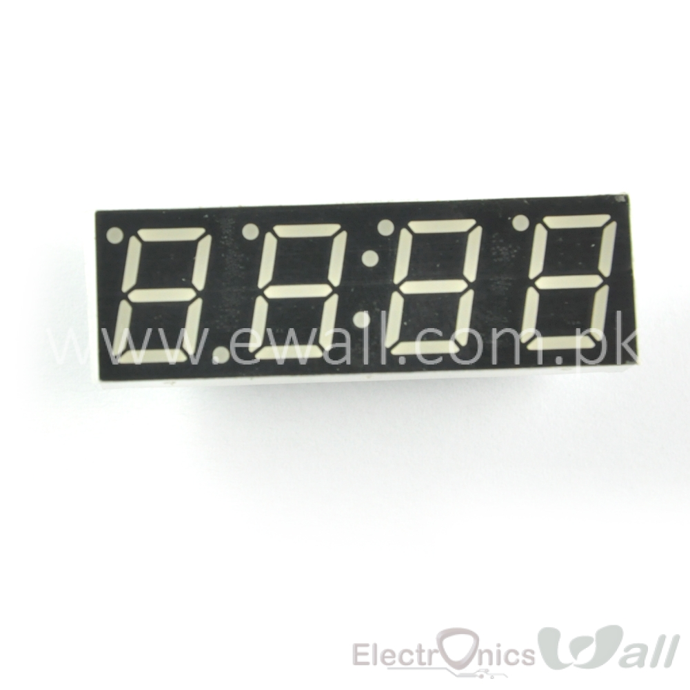 0.39'' 4 Bits Digital Red Color Seven Segment Common Cathode 16 Pins