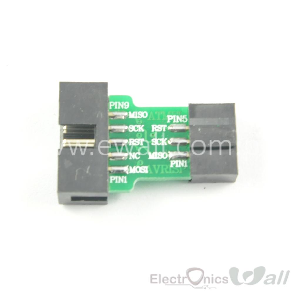 10PIN to 6PIN ISP Adapter Board Adapter Converter Board Module