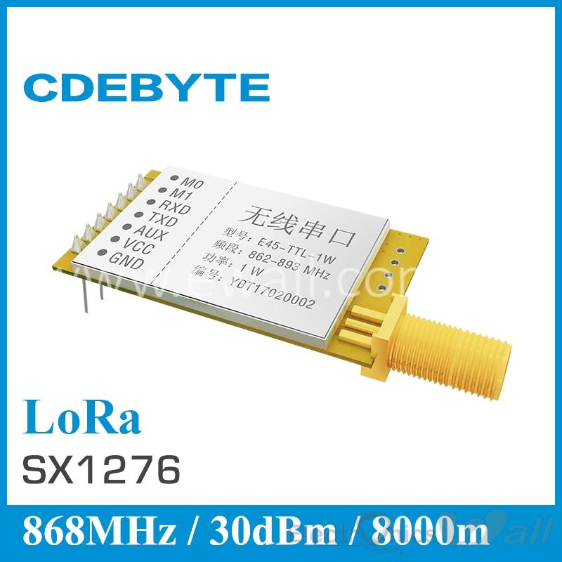 Data Link 8Km Ebyte E45-TTL-1W 868Mhz Transceiver module RX TX TTL based